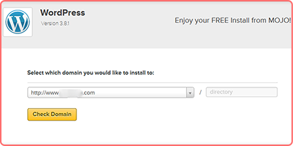 Installing WordPress on Ipage Account