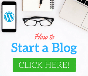 Starting a blog in WordPress