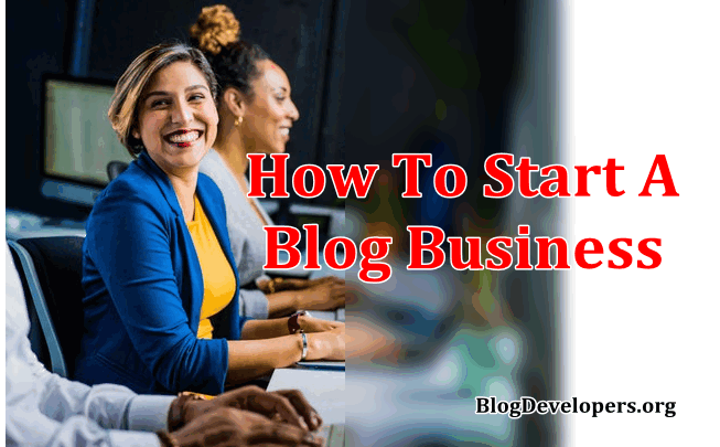 How to start a blog business